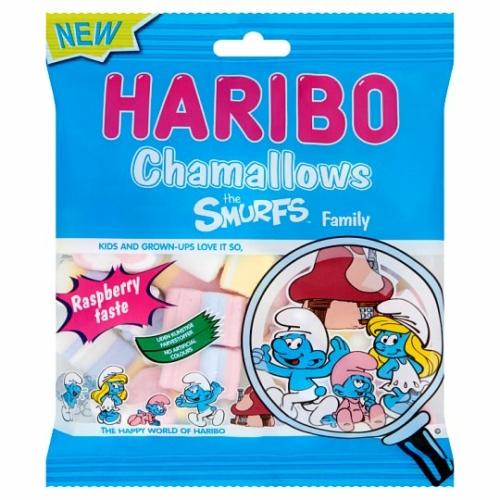 HARIBO CHAMALLOWS SMURFS FAMILY 100 G