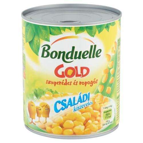 CSEMEGEKUKORICA 670 G BONDUELLE GOLD