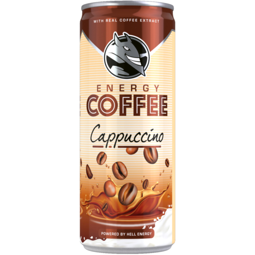 JEGESKÁVÉ ENERGY COFFEE CAPPUCCINO 250 ML