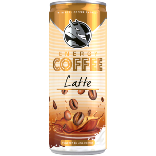 JEGESKÁVÉ ENERGY COFFEE LATTE 250 ML