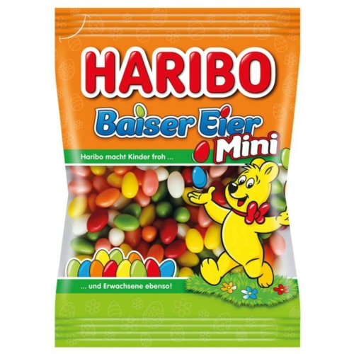 HARIBO TOJÁSDRAZSÉ MINI / MINI BAISER EIER 90 G (KIF)