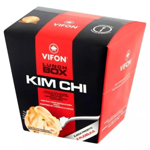 LEVES INSTANT VIFON  LUNCH BOX KIMCHI KÓREAI 85 G