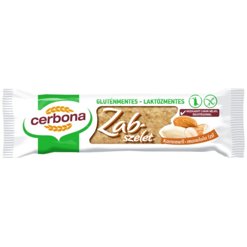 CERBONA SZELET GM KARAMELL-MANDULA 40 G