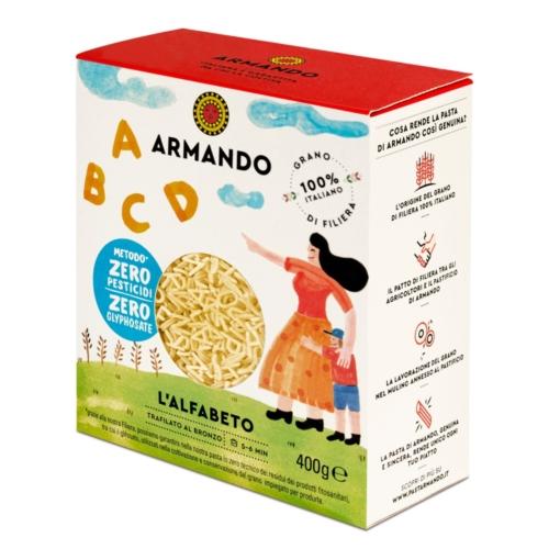 ARMANDO ALFABETO DURUMTÉSZTA 400 G