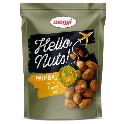 MOGYI HELLO NUTS! MUMBAI CURRY ÍZŰ 100G (SZAV)