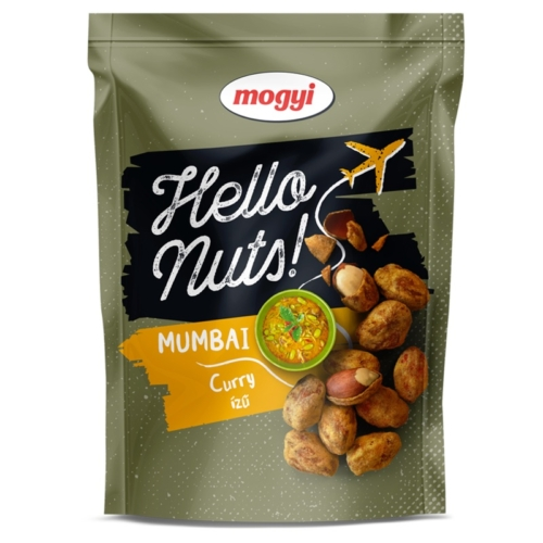 MOGYI HELLO NUTS! MUMBAI CURRY ÍZŰ 100G (LEJ)