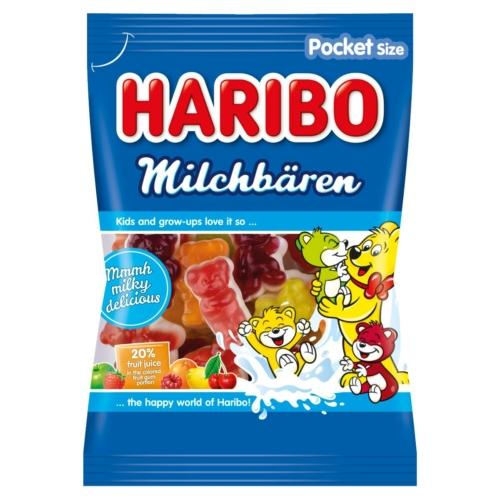 HARIBO GUMIMACI MILCHBÄREN 85 G
