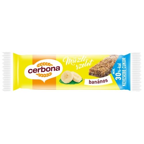 CERBONA SZELET 20 G BANÁNOS