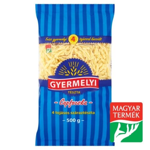 GYERMELYI  COPFOCSKA  4 TOJ. 500 G