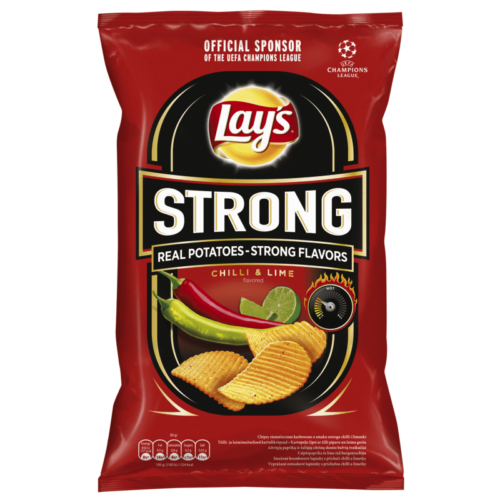 LAY'S STRONG CHILLI&LIME  65 G
