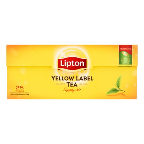 LIPTON TEA YELLOW 25 X 2 G