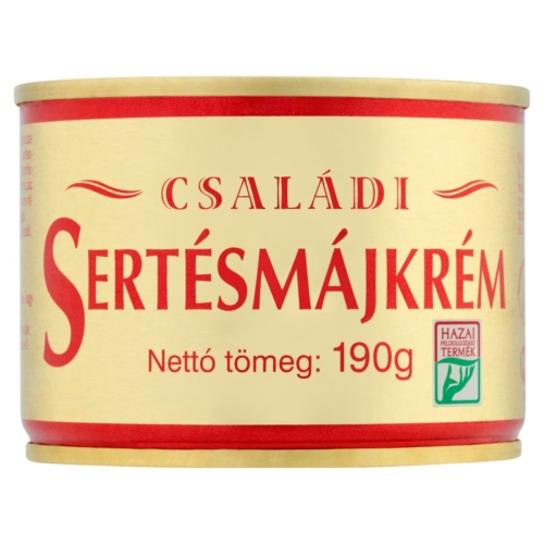 SZEGEDI CSALÁDI SERTÉSMÁJKRÉM 190 G