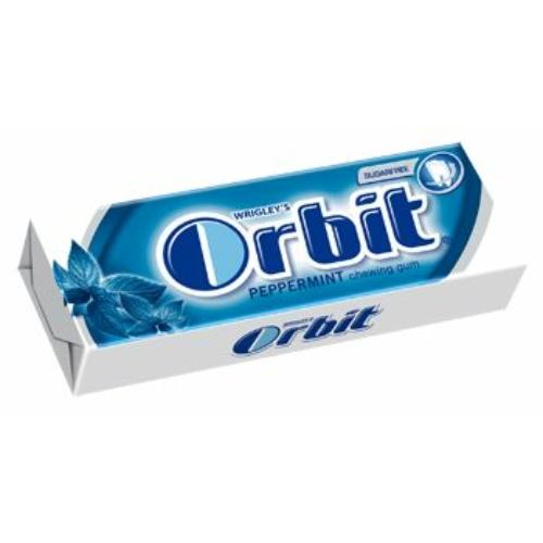 ORBIT DRAZSÉ  10 DB PEPPERMINT (VK)