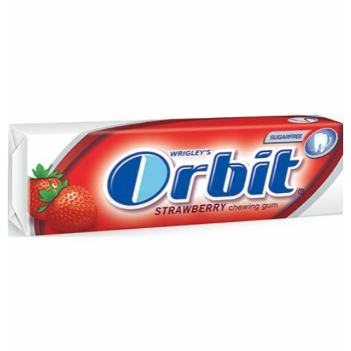 ORBIT DRAZSÉ  10 DB STRAWBERRY (B)