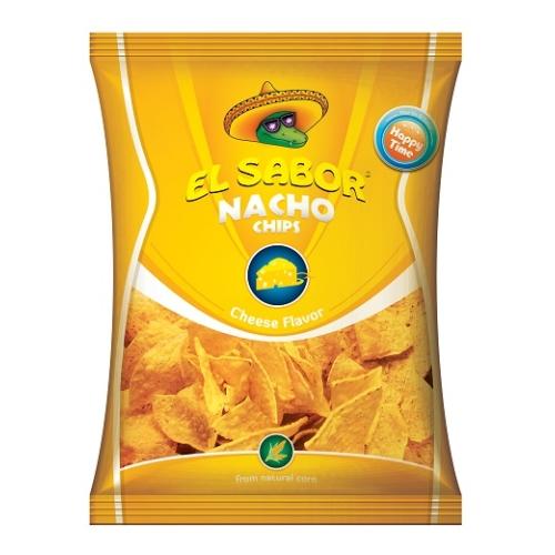 EL SABOR NACHO CHIPS 100 G SAJTOS