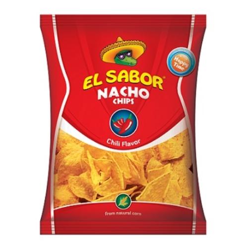 EL SABOR NACHO CHIPS 100 G CHILI