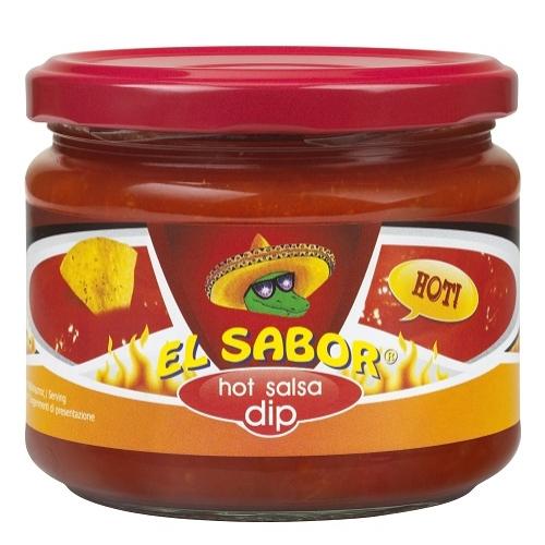 EL SABOR DIP 300 G HOT SALSA
