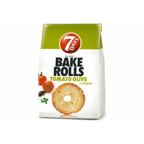 BAKE ROLLS 80 G PARADICSOM