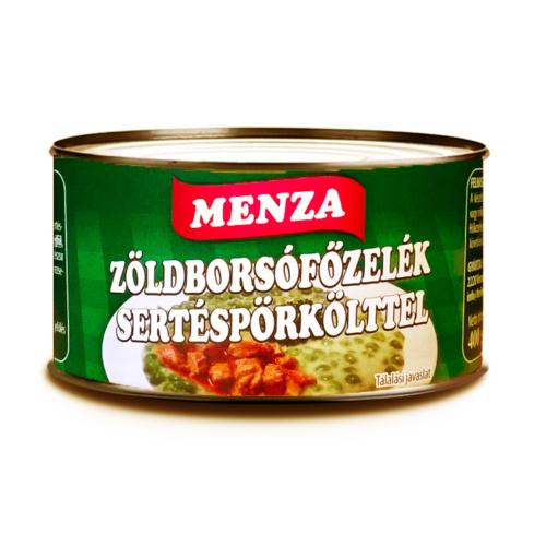 MENZA ZÖLDBORSÓ FŐZ.SERT.PÖR. 400 G TZ