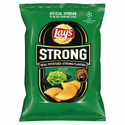 LAY'S STRONG WASABI TORMA 65 G