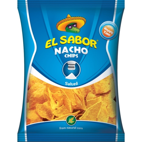 EL SABOR NACHO BIG CHIPS 225 G SÓS GM