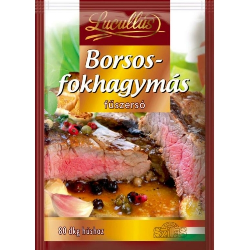 LUCULLUS FŰSZERSÓ BORSOS-FOKHAGYMA 28 G