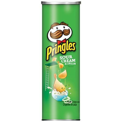 PRINGLES SOUR CREAM&ONION 165 G