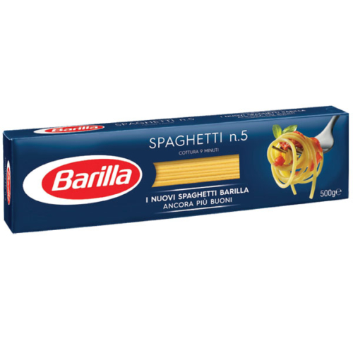 BARILLA SPAGHETTI 500 G N ° 5