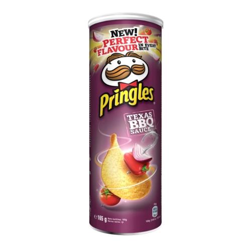 PRINGLES BARBEQUE 165 G