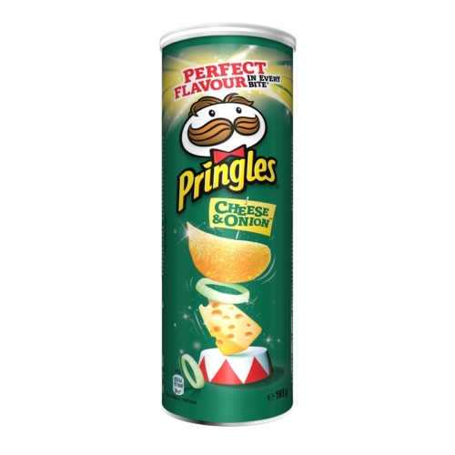 PRINGLES CHEESE & ONION 165 G